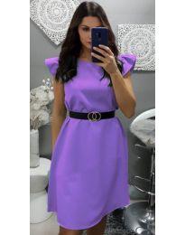 Φόρεμα - κώδ. 703 - μωβ