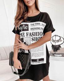 Φόρεμα - κώδ. 7775 - μαύρο