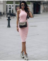 Φόρεμα - κώδ. 754 - ροζ