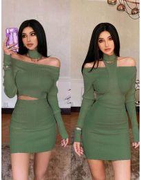 Φόρεμα - κώδ. 3982 - πράσινο