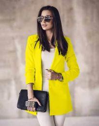 Σακάκι - κώδ. 5957 - νέον κίτρινο