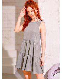 Φόρεμα - κώδ. 4471 - γκρι