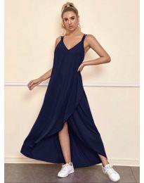 Φόρεμα - κώδ. 3083 - σκούρο μπλε
