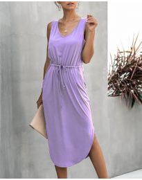 Φόρεμα - κώδ. 681 - μωβ