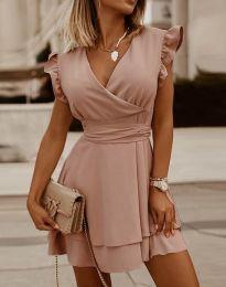Φόρεμα - κώδ. 5654 - ροζ