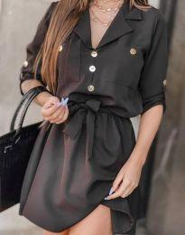 Φόρεμα - κώδ. 4950 - μαύρο