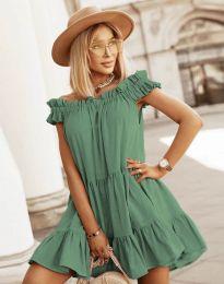 Φόρεμα - κώδ. 6969 - λαδί