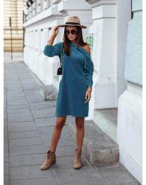 Φόρεμα - κώδ. 8171 - τυρκουάζ