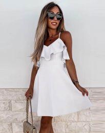 Φόρεμα - κώδ. 2739 - λευκό
