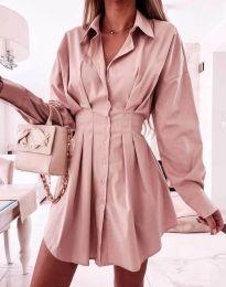 Φόρεμα - κώδ. 8141 - πούδρα