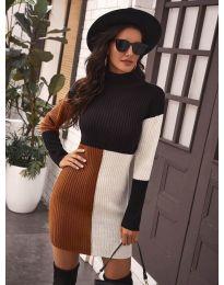 Φόρεμα - κώδ. 9935 - 2 - πολύχρωμο
