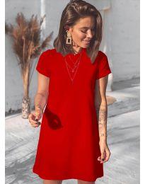 Φόρεμα - κώδ. 2299 - κόκκινο
