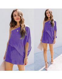 Φόρεμα - κώδ. 9933 - μωβ