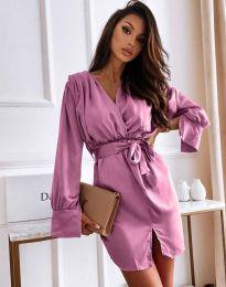 Φόρεμα - κώδ. 2741 - μωβ