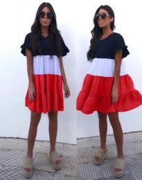 Φόρεμα - κώδ. 1039 - 1 - πολύχρωμο