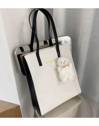 Τσάντα - κώδ. B135 - 1 - λευκό