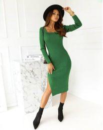 Φόρεμα - κώδ. 9782 - πράσινος