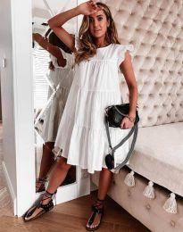 Φόρεμα - κώδ. 2666 - λευκό