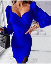 Φόρεμα - κώδ. 2595 Σκούρο μπλε