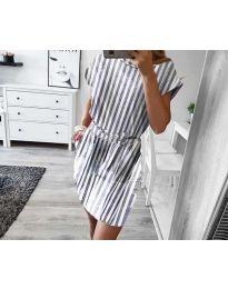 Φόρεμα - κώδ. 1035 - γκρι
