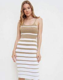 Φόρεμα - κώδ. 0998 - μπεζ