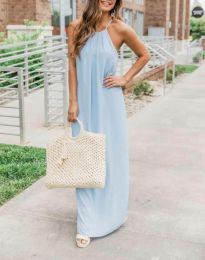 Φόρεμα - κώδ. 6258 - 2 - γαλάζιο