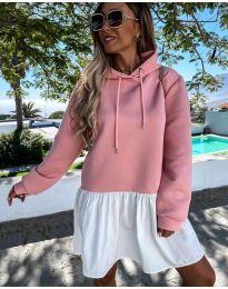 Φόρεμα - κώδ. 6947 - ροζ
