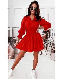 Φόρεμα - κώδ. 1843 - κόκκινο