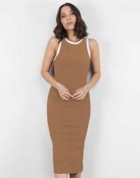 Φόρεμα - κώδ. 5273 - καπουτσίνο