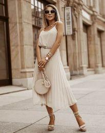 Φόρεμα - κώδ. 1249 - μπεζ