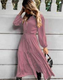 Φόρεμα - κώδ. 6522 - πούδρα