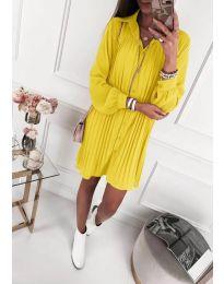 Φόρεμα - κώδ. 427 - κίτρινο