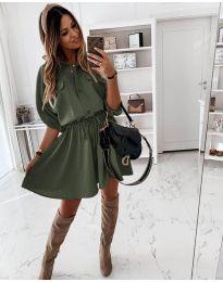Φόρεμα - κώδ. 5856 - πράσινο