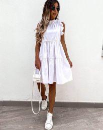 Φόρεμα - κώδ. 2663 - λευκό