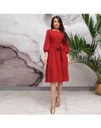 Φόρεμα - κώδ. 4571 - κόκκινο