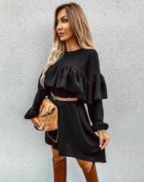 Φόρεμα - κώδ. 6913 - μαύρο