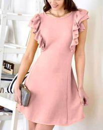 Φόρεμα - κώδ. 7111 - πούδρα