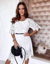 Φόρεμα - κώδ. 6979 - λευκό