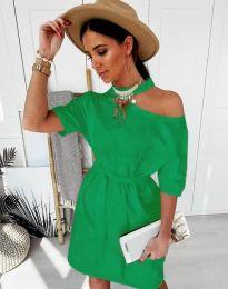 Φόρεμα - κώδ. 5848 - 6 - πράσινο