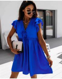 Φόρεμα - κώδ. 2093 - σκούρο μπλε