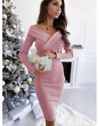 Φόρεμα - κώδ. 6130 - πούδρα