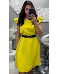 Φόρεμα - κώδ. 703 - κίτρινο