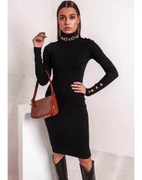 Φόρεμα - κώδ. 11513 - μαύρο