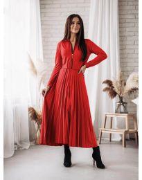 Φόρεμα - κώδ. 1544 - κόκκινο