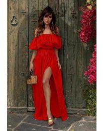 Φόρεμα - κώδ. 3336 - κόκκινο