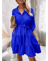 Φόρεμα - κώδ. 6970 - μπλε