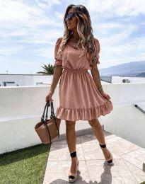 Φόρεμα - κώδ. 6460 - πούδρα