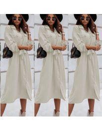 Φόρεμα - κώδ. 1510 - μπεζ
