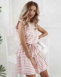 Φόρεμα - κώδ. 7211 - πούδρα