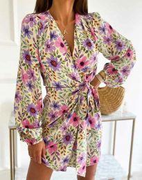 Φόρεμα - κώδ. 1433 - πολύχρωμο